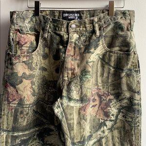 Camouflage Pants Size 33/30 Mossy Oak
